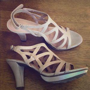 Strappy Dress Heel Sandals